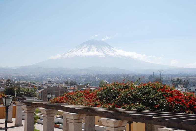 Bella imagen del volcan Misti en Arequipa