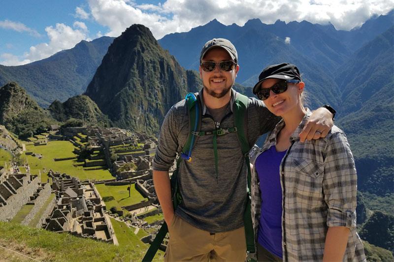 Visitando Machu Picchu