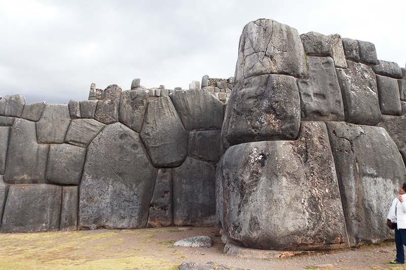 Construcciones de piedra en Sacsayhuaman