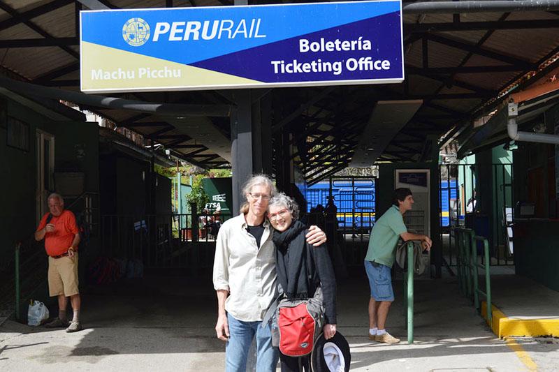 Estacion tren Machu Picchu