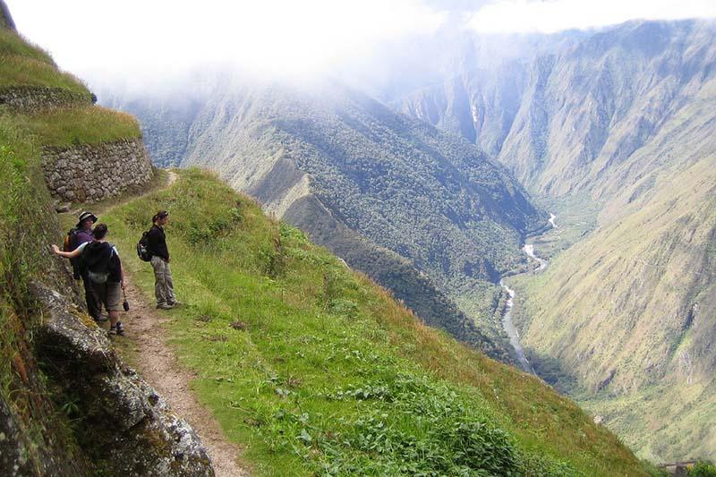 Paisaje del camino inca