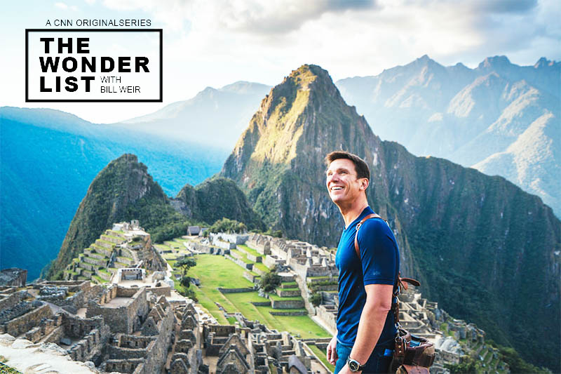 CCN Bill Weir in Machu Picchu