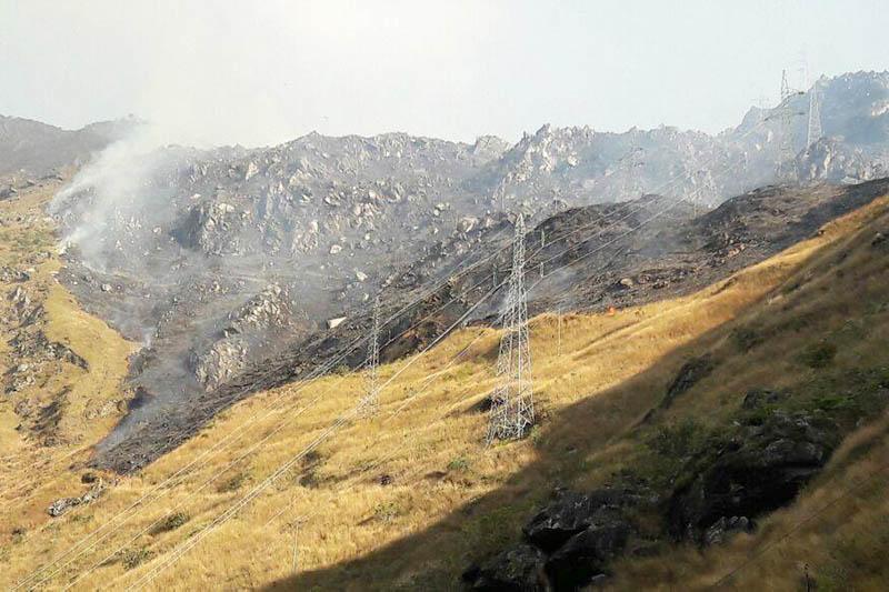 Daños ocasionados por el siniestro en Machu Picchu