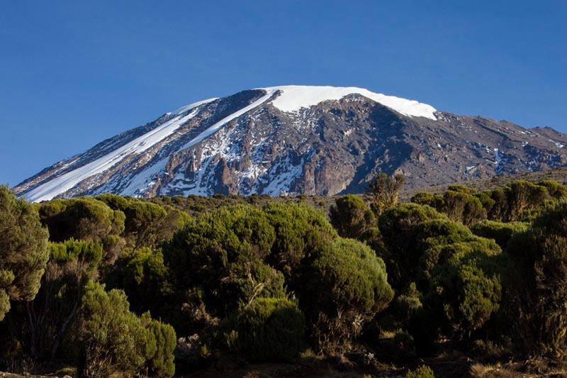 Vista del Monte Kilimanyaro