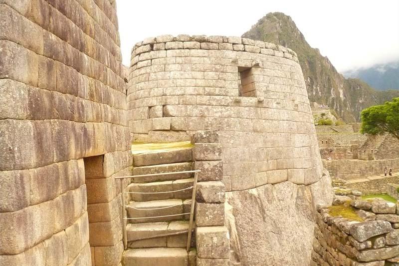 Tempio del sole - Machu Picchu