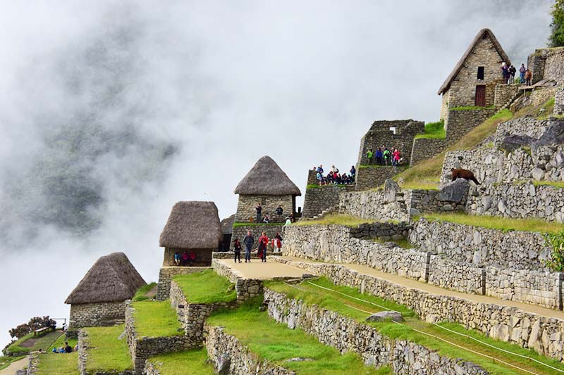 Interior de Machu Picchu