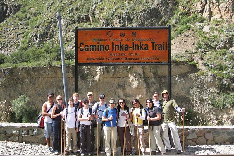 inicio del Camino Inca