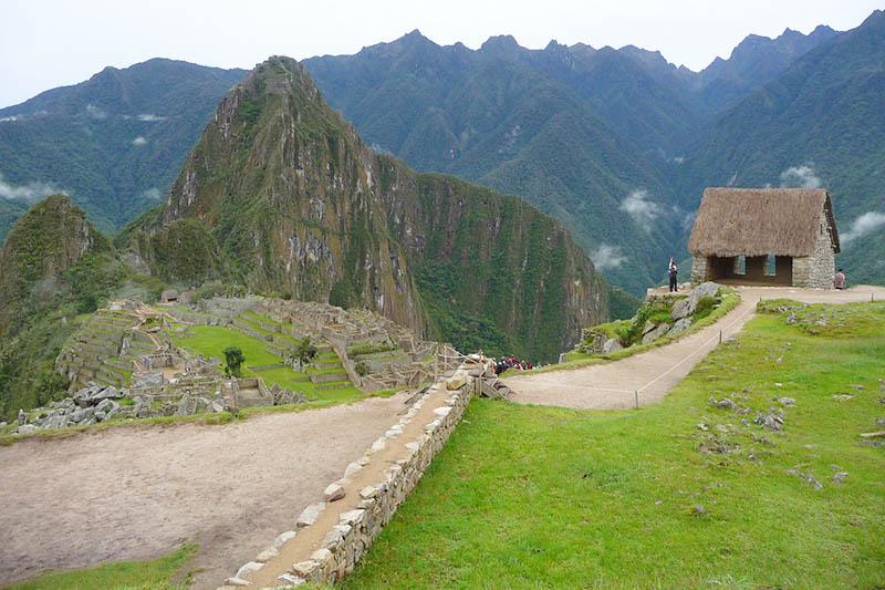 Casa del Guardián en Machu Picchu