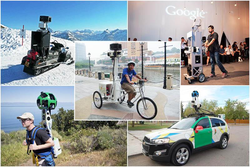 Flota de Google Street View