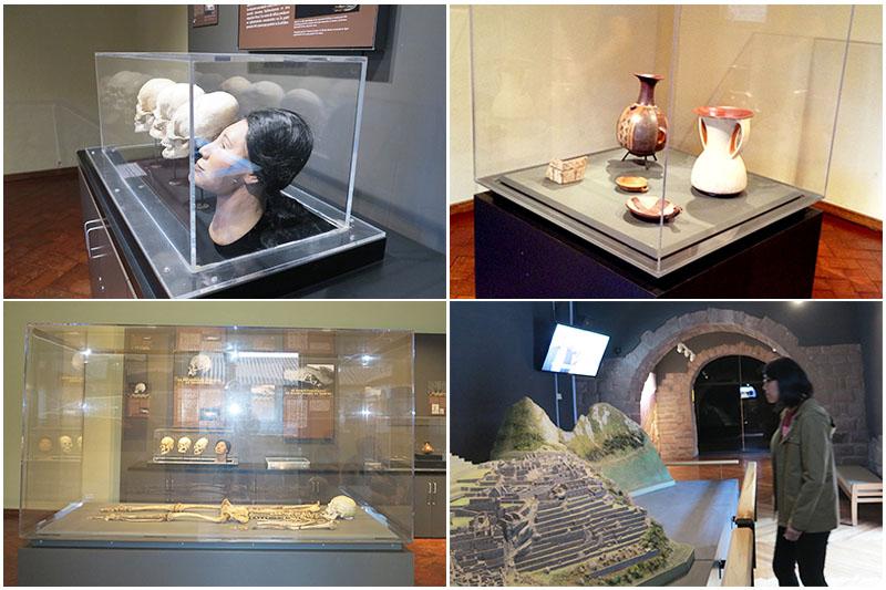 Objetos exhibidos en la Casa Concha