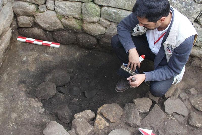 Excavación en Machu Picchu