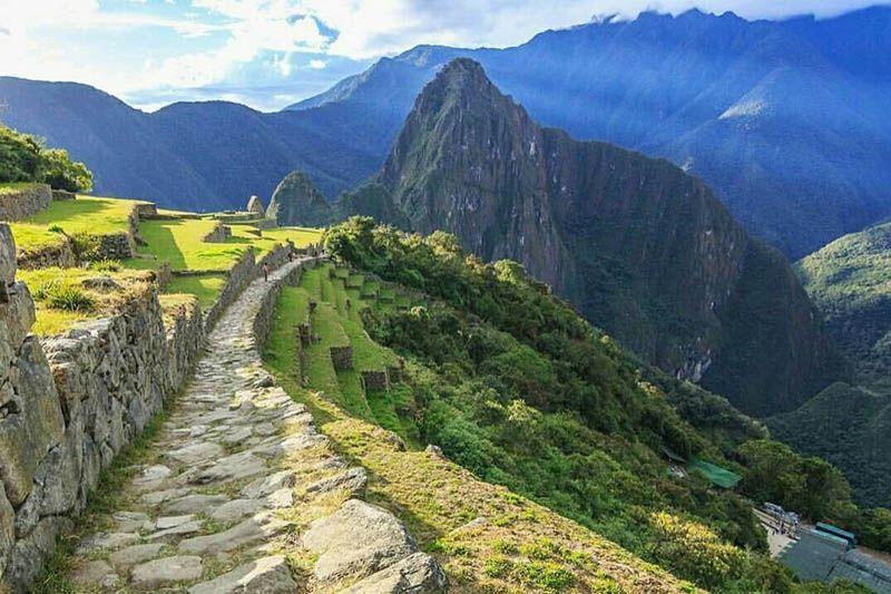 Entrada a Machu Picchu por el Camino Inca