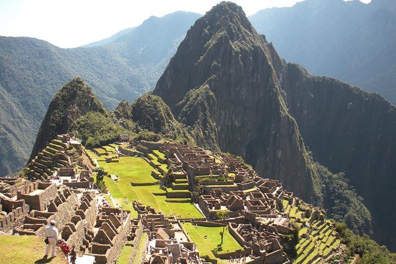 Machu Picchu à tarde