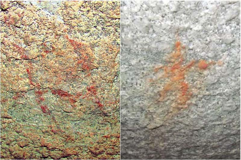 Pinturas descubiertas el Parque Arqueológico de Machu Picchu