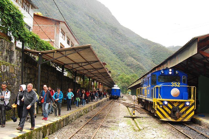 Estación de Trenes en Machu Picchu