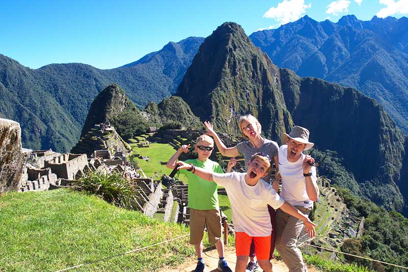 Machu Picchu in the high season