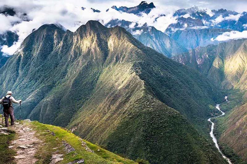 Landscapes that can be seen when traveling the Inca Trail