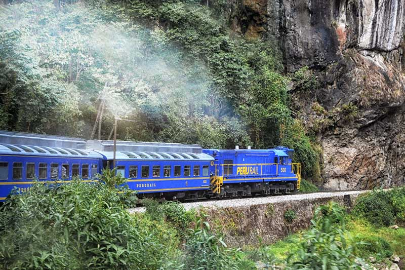 Train pour Machu Picchu