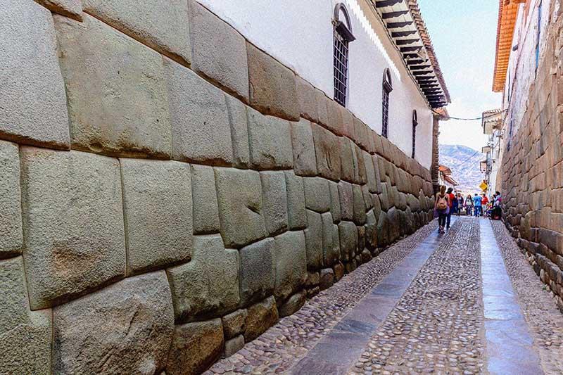 Fotografía de calles de la ciudad del Cusco