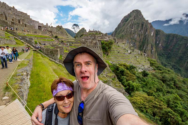 Ticket Machu Picchu safe and without mishap