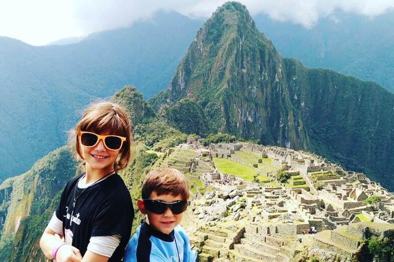 Ticket Machu Picchu to travel with children