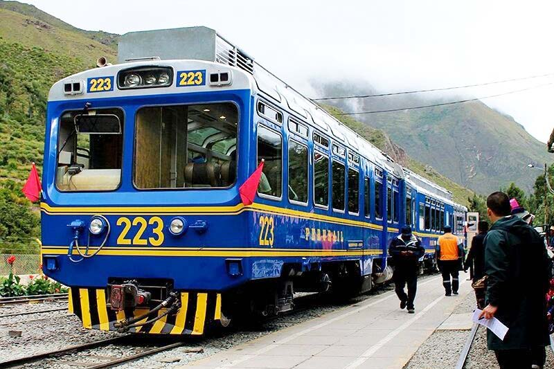 Advantages of going to Machu Picchu by train