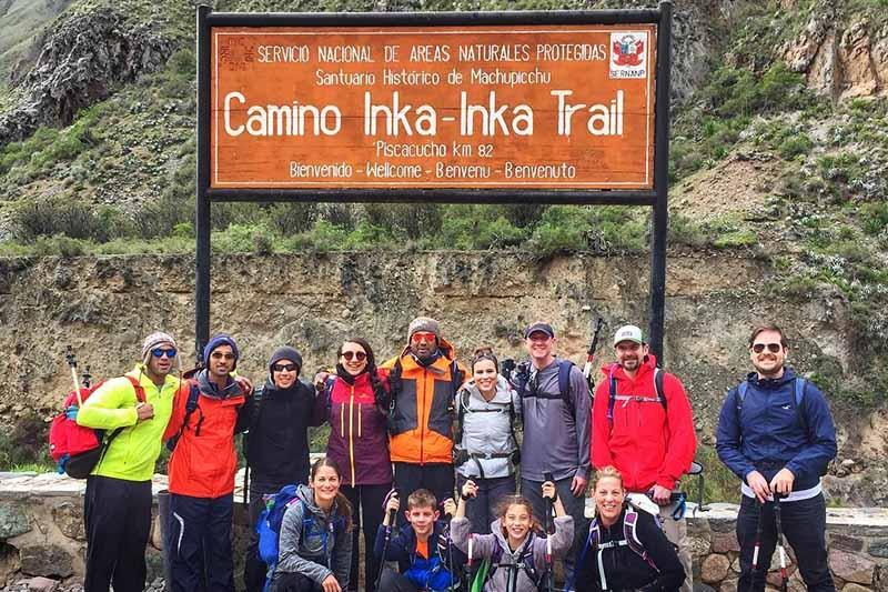 Recorrer el camino inca en 2018