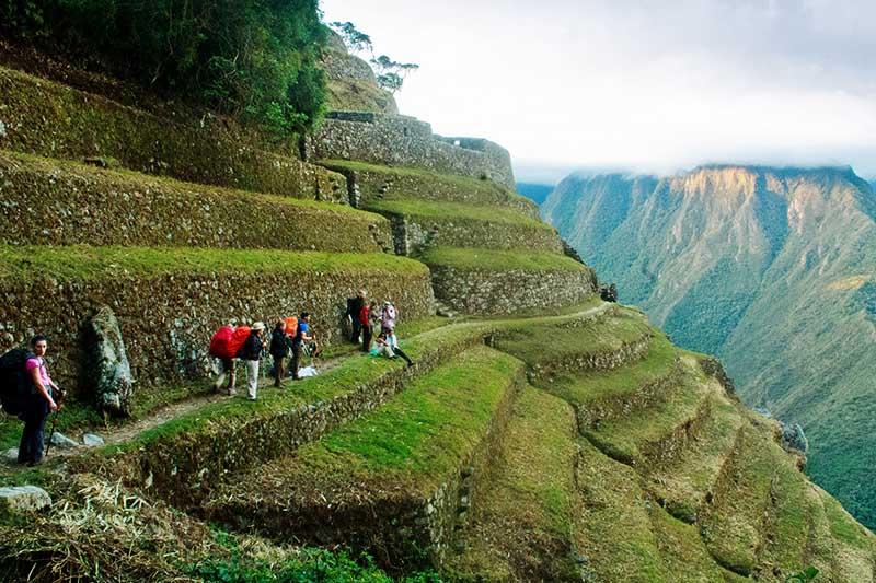 Construcciones encontradas al recorrer el camino inca