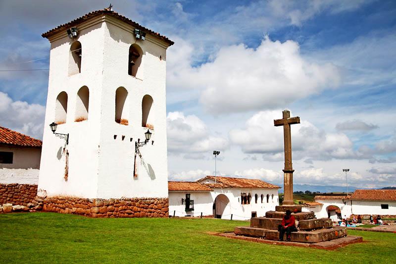 Iglesia de Chinchero en Valle Sagrado