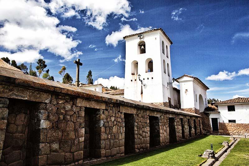 Ruinas incas en Chinchero
