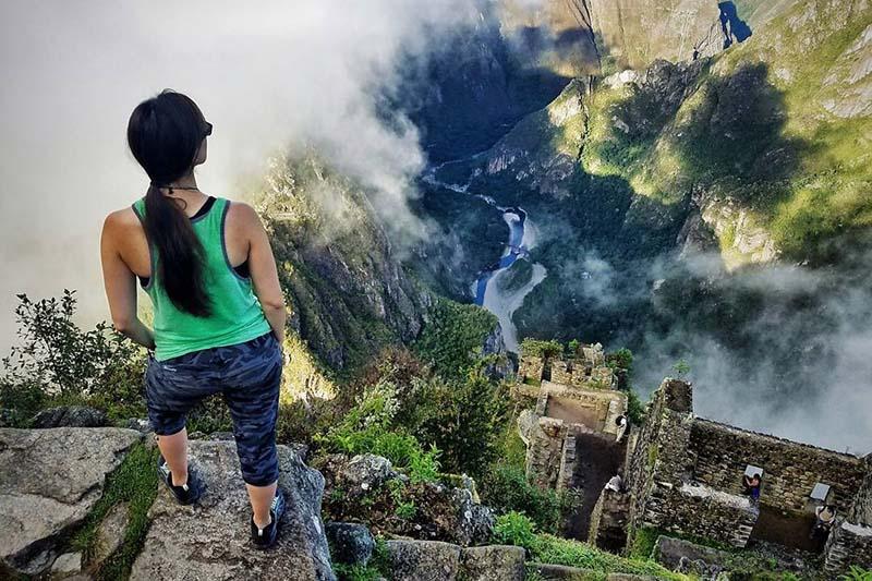 Vista del entorno de la montaña Huayna Picchu