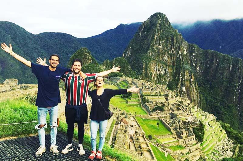 Machu Picchu visitada por turistas todo el mundo