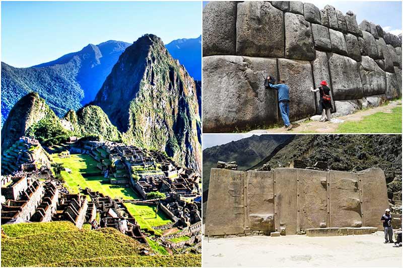 Machu Picchu, Ollantaytambo y Sacsayhuaman