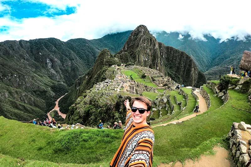 Huayna Picchu y Machu Picchu en días diferentes