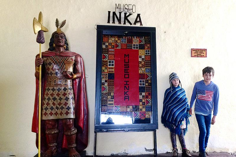 Ingreso del Museo Inka del Cusco