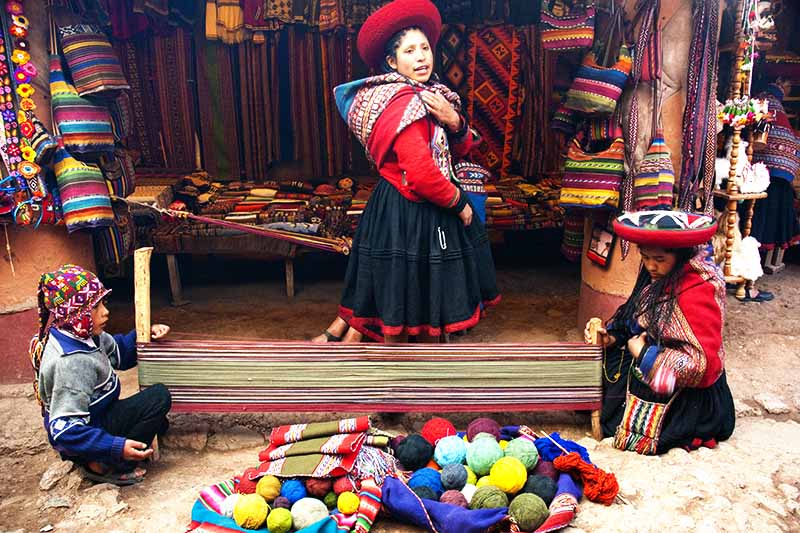 Centros textiles de Chinchero