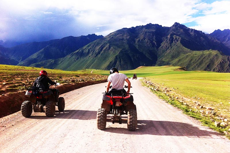 Paisajes del Cusco recorrido en cuatrimoto