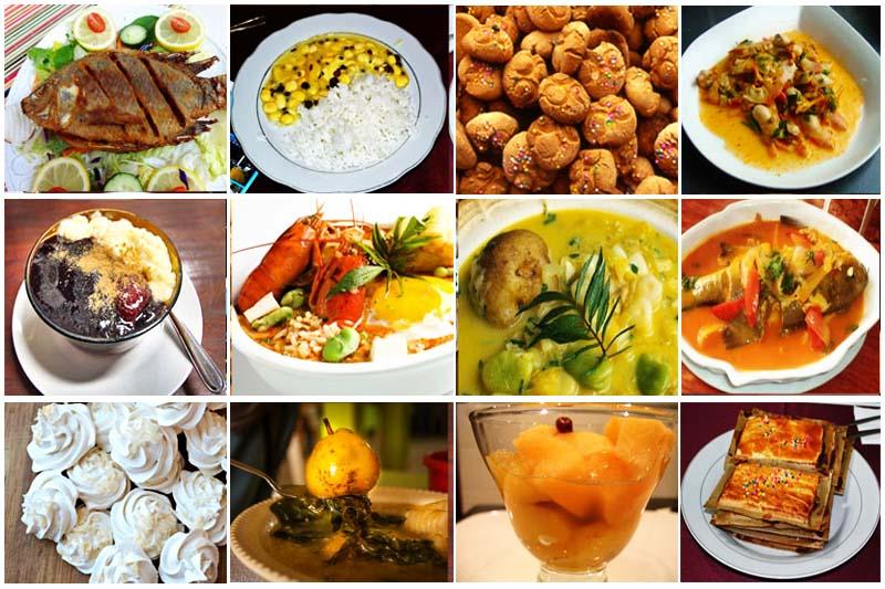 The twelve dishes Cusco