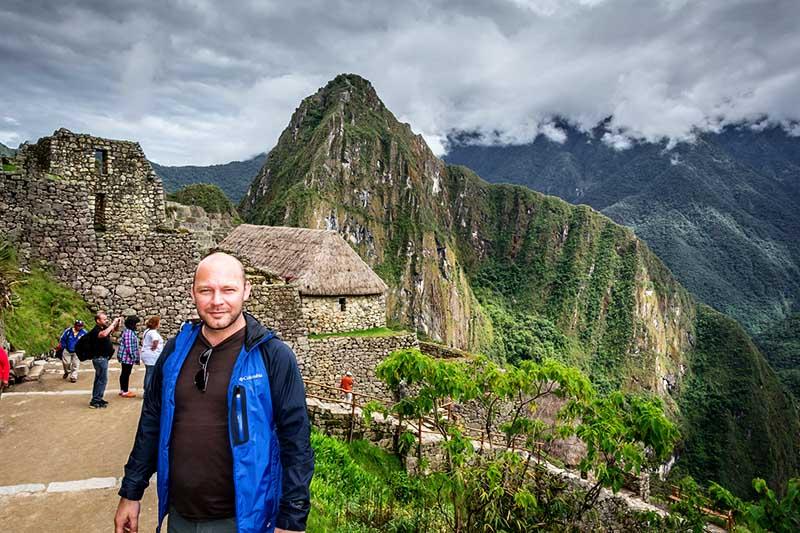 La montaña Huayna Picchu observada desde Machu Picchu
