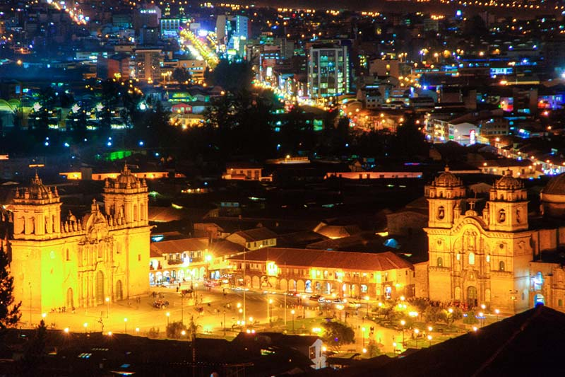 Iglesias en Semana Santa Cusco