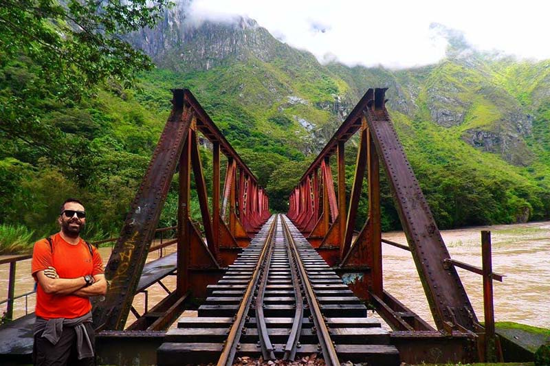 Puente hidroeléctrica a Machu Picchu