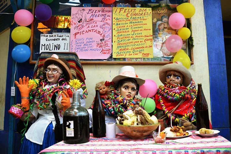 Día de las comadres y compadres en el Cusco