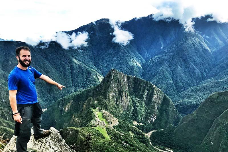 Aventura de fotografía en la montaña Machu Picchu