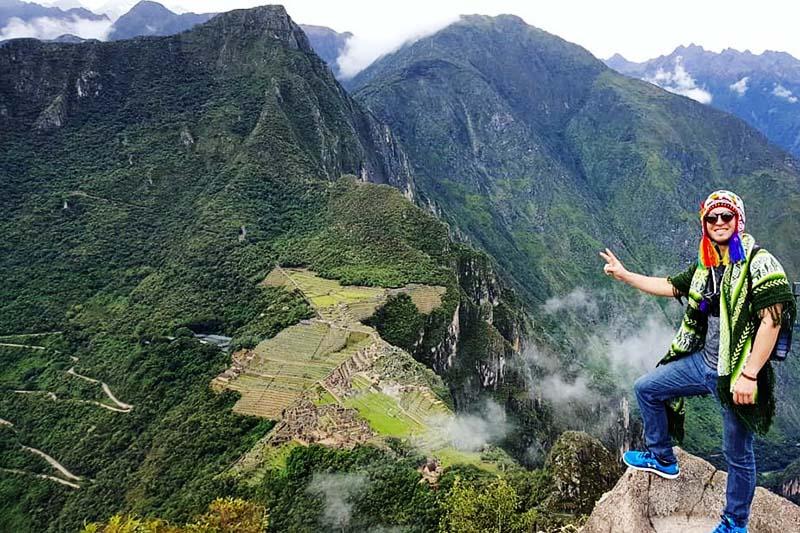 Cima de la montaña Huayna Picchu