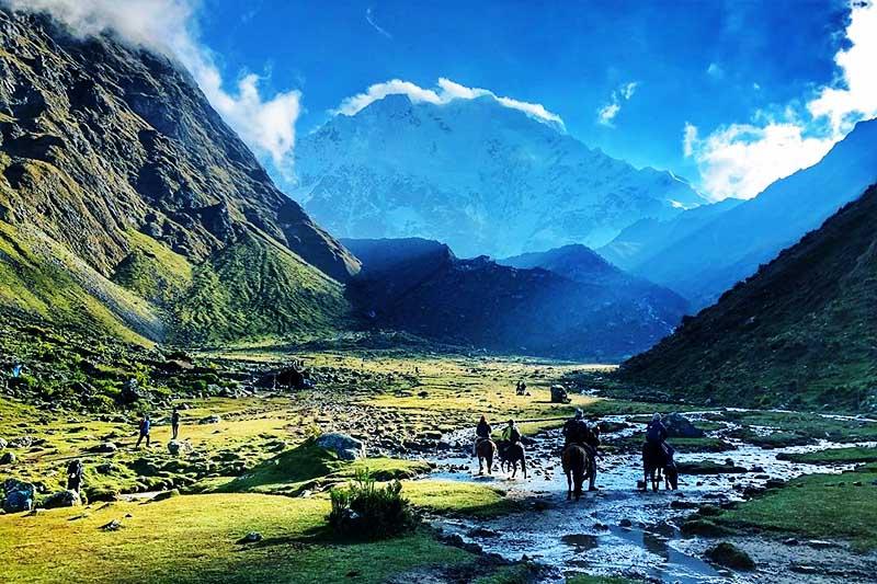 Paisaje del Salkantay Trek