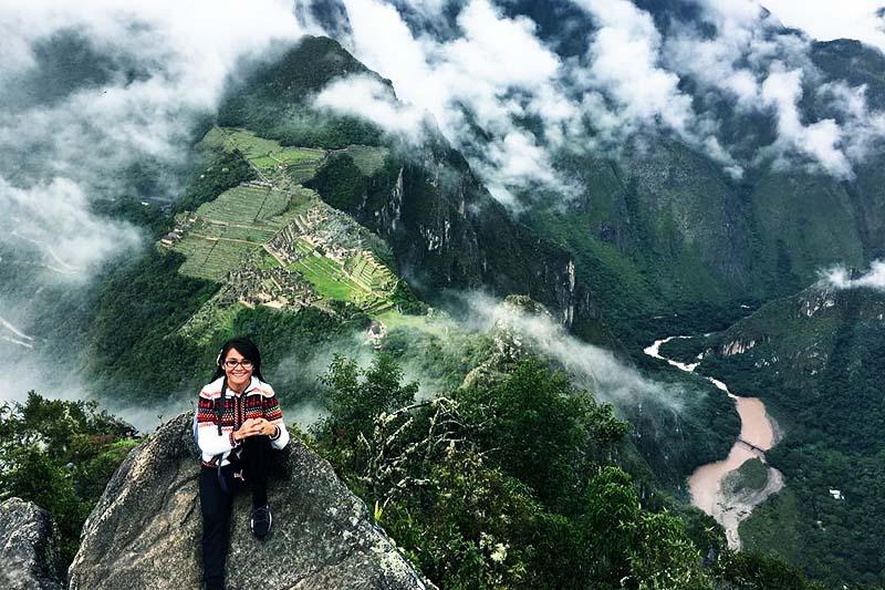 Huayna Picchu miedo a las alturas