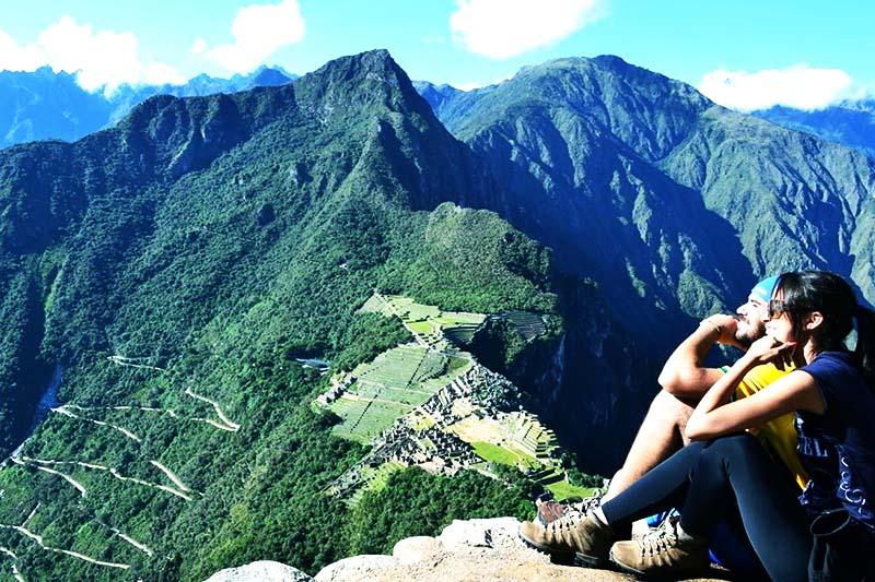 Huayna Picchu subir la montaña