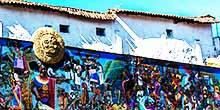 El gran mural de la Historia del Cusco