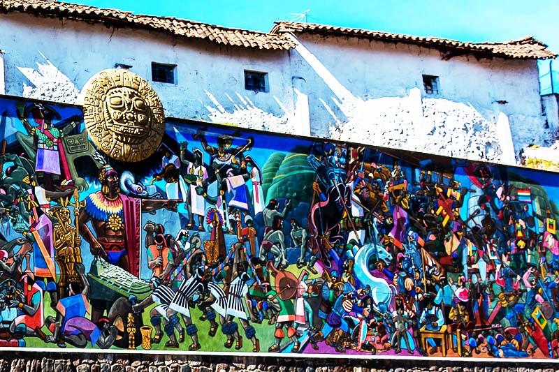 Mural de la Historia del Cusco