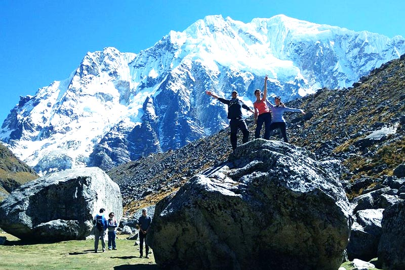 Salkantay Trek ruta a Machu Picchu